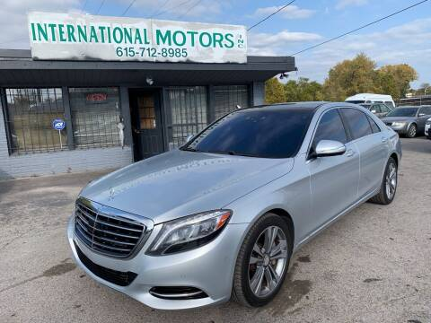 2014 Mercedes-Benz S-Class for sale at International Motors Inc. in Nashville TN