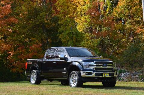 2018 Ford F-150 for sale at LARIN AUTO in Norwood MA