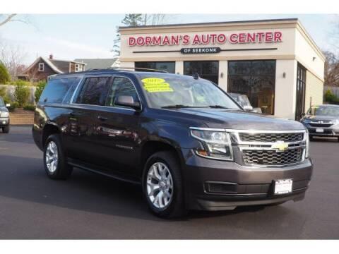 2015 Chevrolet Suburban for sale at DORMANS AUTO CENTER OF SEEKONK in Seekonk MA