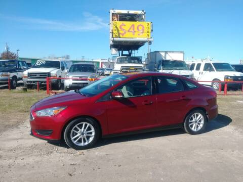 2015 Ford Focus for sale at USA Auto Sales in Dallas TX