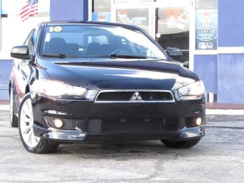2010 Mitsubishi Lancer for sale at VIP AUTO ENTERPRISE INC. in Orlando FL