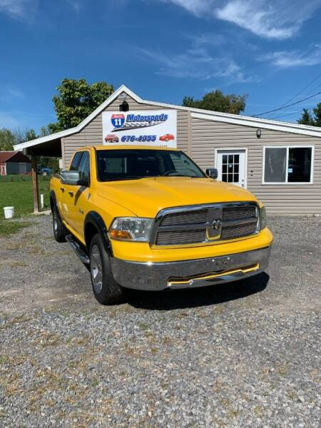2009 Dodge Ram Pickup 1500 for sale at ROUTE 11 MOTOR SPORTS in Central Square NY