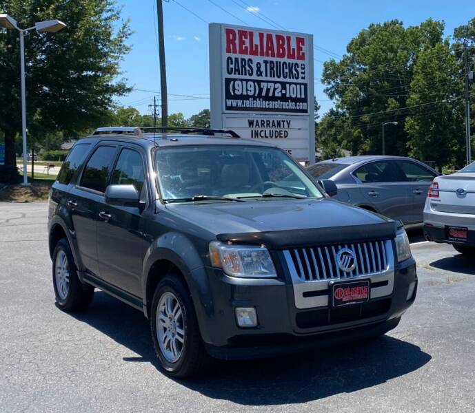 2010 Mercury Mariner for sale at Reliable Cars & Trucks LLC in Raleigh NC