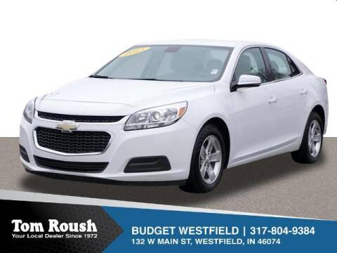 2015 Chevrolet Malibu for sale at Tom Roush Budget Westfield in Westfield IN