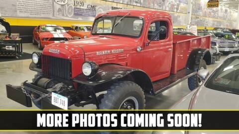 1948 Dodge Power Wagon for sale at UNIQUE SPECIALTY & CLASSICS in Mankato MN