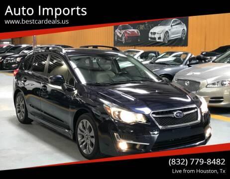 2016 Subaru Impreza for sale at Auto Imports in Houston TX