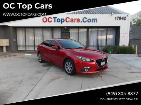 2016 Mazda MAZDA3 for sale at OC Top Cars in Irvine CA