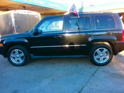 2008 Jeep Patriot for sale at Under Priced Auto Sales in Houston TX
