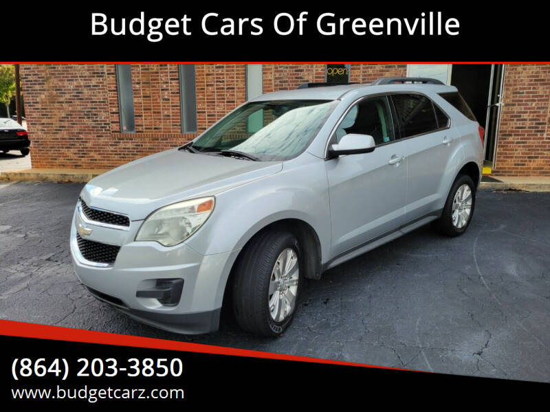 2011 Chevrolet Equinox for sale at Budget Cars Of Greenville in Greenville SC