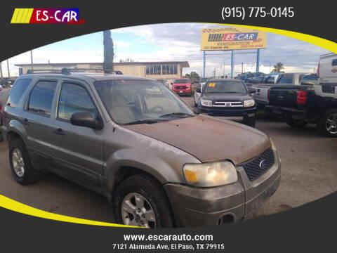 2005 Ford Escape for sale at Escar Auto in El Paso TX