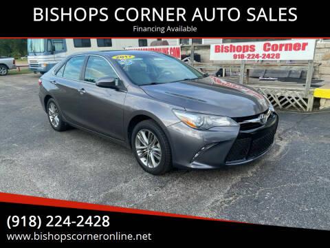 2017 Toyota Camry for sale at BISHOPS CORNER AUTO SALES in Sapulpa OK