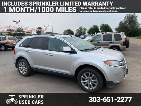 2011 Ford Edge for sale at Sprinkler Used Cars in Longmont CO