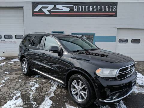 2015 Dodge Durango for sale at RS Motorsports, Inc. in Canandaigua NY