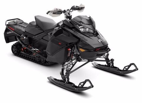 2021 Ski-Doo renegade xrs 850 with display for sale at Tony's Ticonderoga Sports in Ticonderoga NY