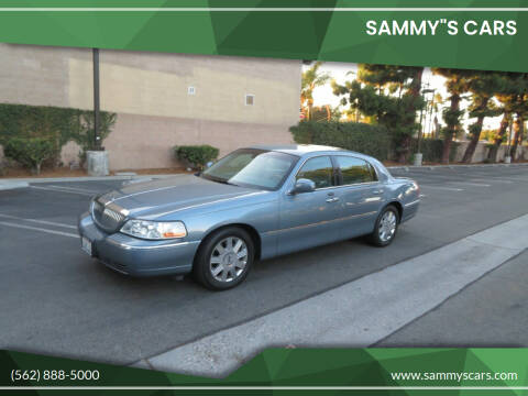 """2004 Lincoln Town Car for sale at SAMMY""""S CARS in Bellflower CA"""