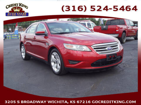 2012 Ford Taurus for sale at Credit King Auto Sales in Wichita KS