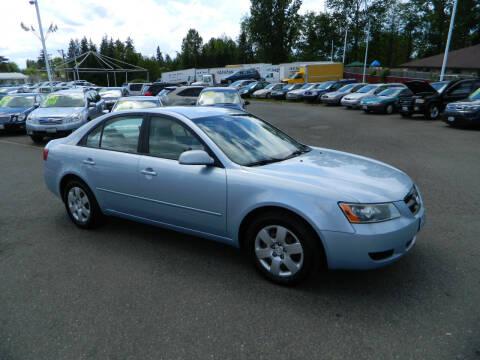 2007 Hyundai Sonata for sale at J & R Motorsports in Lynnwood WA