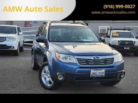 2010 Subaru Forester for sale at AMW Auto Sales in Sacramento CA