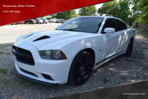 2013 Dodge Charger for sale at American Auto Center in Austin TX