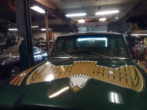 1979 Jeep Cherokee for sale at Marshall Motors Classics in Jackson Michigan MI