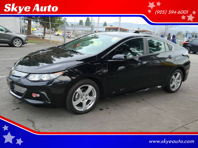 2018 Chevrolet Volt for sale at Skye Auto in Fremont CA