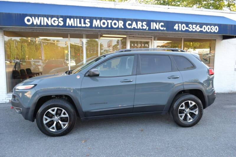 2015 Jeep Cherokee for sale at Owings Mills Motor Cars in Owings Mills MD