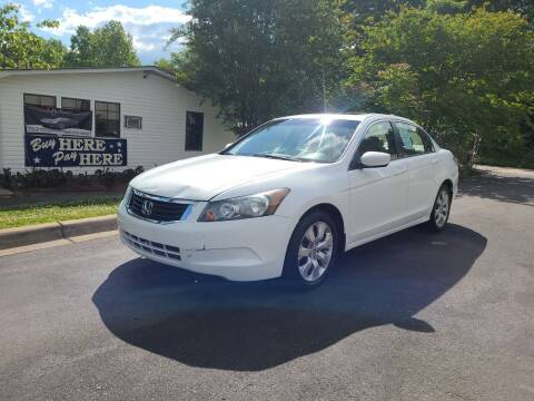 2008 Honda Accord for sale at TR MOTORS in Gastonia NC