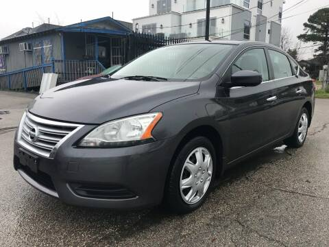 2014 Nissan Sentra for sale at Saipan Auto Sales in Houston TX