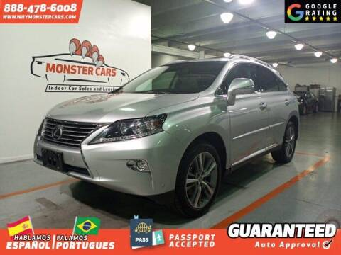 2015 Lexus RX 350 for sale at Monster Cars in Pompano Beach FL