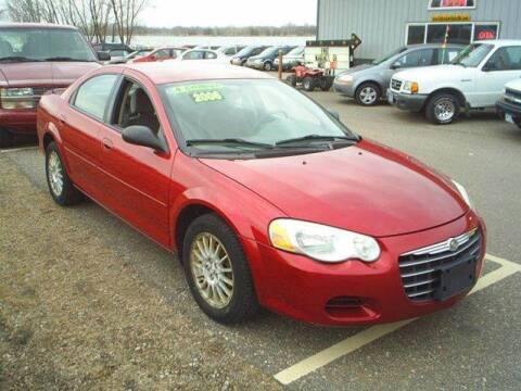 2006 Chrysler Sebring for sale at Dales Auto Sales in Hutchinson MN