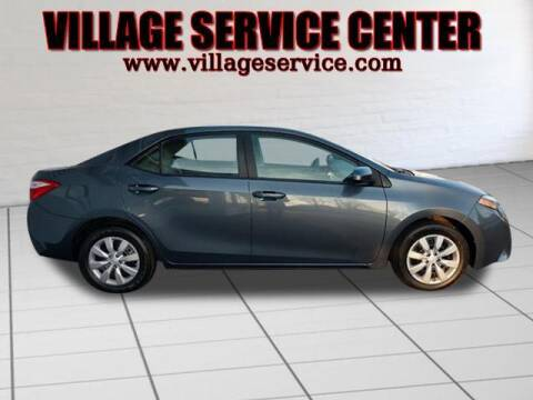 2014 Toyota Corolla for sale at VILLAGE SERVICE CENTER in Penns Creek PA