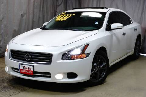 2014 Nissan Maxima for sale at Fincher's Texas Best Auto & Truck Sales in Tomball TX