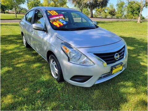 2018 Nissan Versa for sale at D & I Auto Sales in Modesto CA