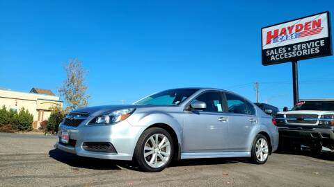 2013 Subaru Legacy for sale at Hayden Cars in Coeur D Alene ID