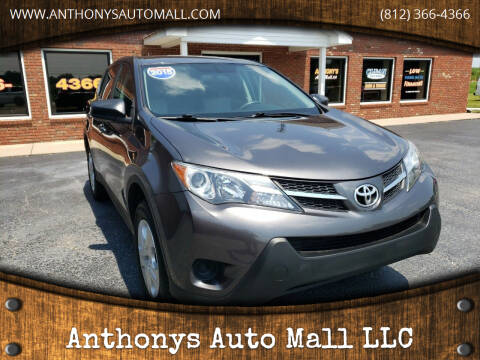 2015 Toyota RAV4 for sale at Anthonys Auto Mall LLC in New Salisbury IN
