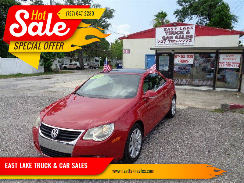 2007 Volkswagen Eos for sale at EAST LAKE TRUCK & CAR SALES in Holiday FL