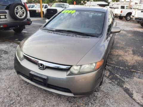 2008 Honda Civic for sale at Autos by Tom in Largo FL