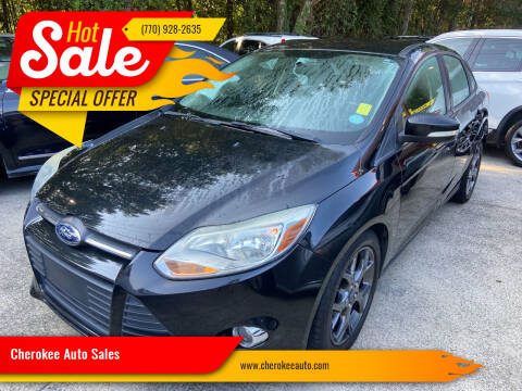 2014 Ford Focus for sale at Cherokee Auto Sales in Acworth GA