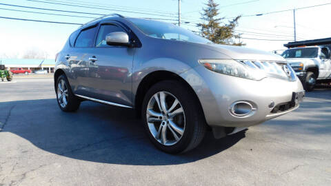 2009 Nissan Murano for sale at Action Automotive Service LLC in Hudson NY