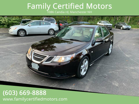 2011 Saab 9-3 for sale at Family Certified Motors in Manchester NH
