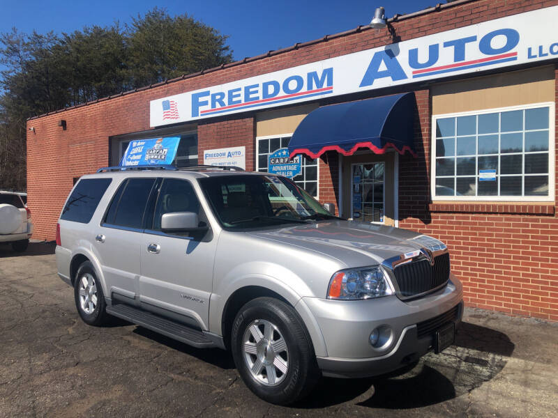 2003 Lincoln Navigator for sale at FREEDOM AUTO LLC in Wilkesboro NC