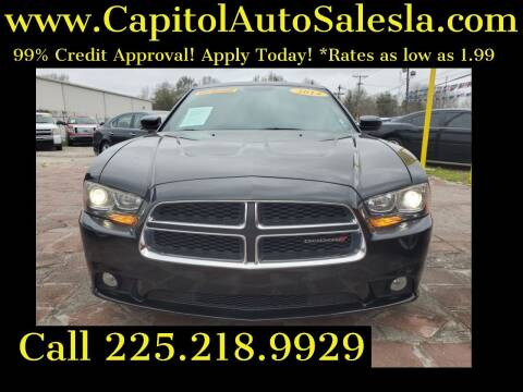2014 Dodge Charger for sale at CAPITOL AUTO SALES LLC in Baton Rouge LA