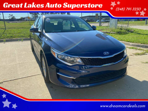 2017 Kia Optima for sale at Great Lakes Auto Superstore in Waterford Township MI
