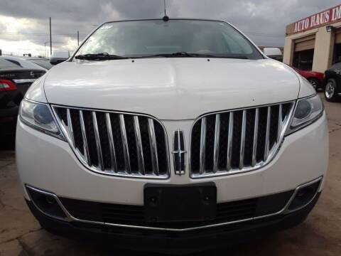 2013 Lincoln MKX for sale at Auto Haus Imports in Grand Prairie TX