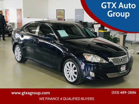 2008 Lexus IS 250 for sale at GTX Auto Group in West Chester OH