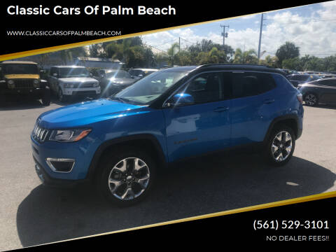 2020 Jeep Compass for sale at Classic Cars of Palm Beach in Jupiter FL