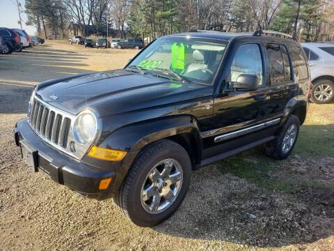 2007 Jeep Liberty for sale at Northwoods Auto & Truck Sales in Machesney Park IL