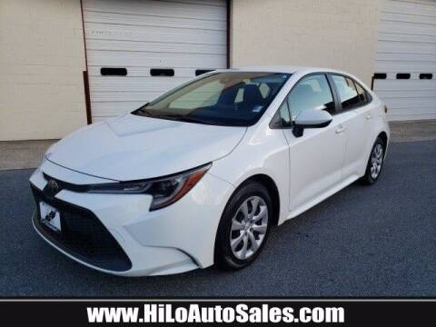 2020 Toyota Corolla for sale at BuyFromAndy.com at Hi Lo Auto Sales in Frederick MD