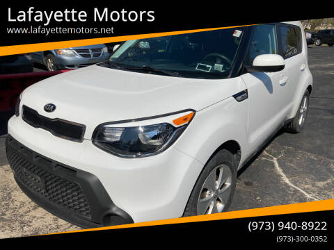 2016 Kia Soul for sale at Lafayette Motors in Lafayette NJ