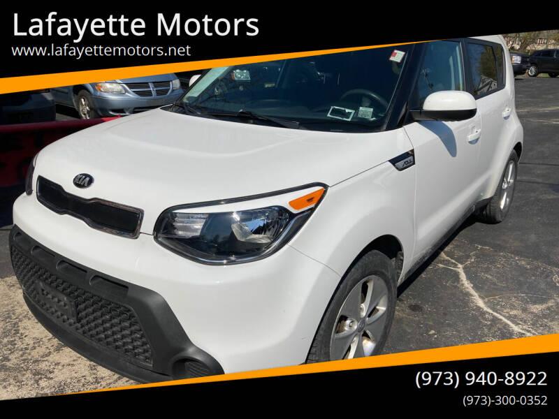2016 Kia Soul for sale at Lafayette Motors in Lafayette NJ